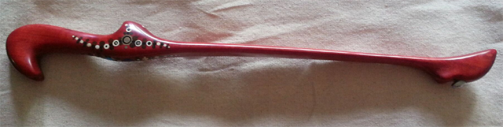African Pink Ivory Atlatl
